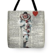Joker From Playing Cards Tote Bag
