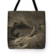 Jonah And The Whale Tote Bag