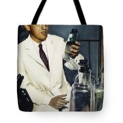 Jonas Salk (1914-1995) Tote Bag