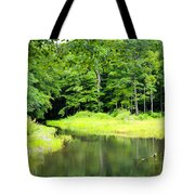 Jones Mill Run Creek Tote Bag