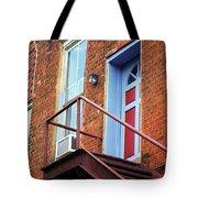 Jonesborough Tenessee - Upstairs Neighbors Tote Bag