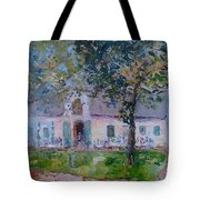 Jonkerhshuis At Groot Constantia Tote Bag