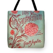 Joplin: Chrysanthemum Tote Bag
