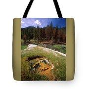 Jordan Hot Springs Tote Bag