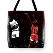 Jordan Over Salley Tote Bag