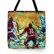 Jose Theodore The Goalkeeper Tote Bag