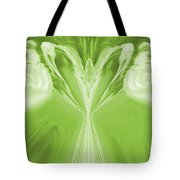 Josea - Green Tote Bag