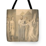Joseph And Potiphar's Wife Tote Bag