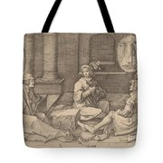 Joseph Interprets The Dreams In Prison Tote Bag