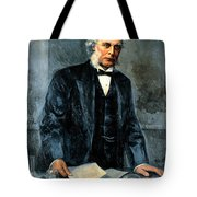 Joseph Lister, Surgeon And Inventor Tote Bag