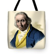 Joseph-marie Jacquard, French Inventor Tote Bag