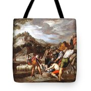 Joseph Sold By His Brothers Tote Bag
