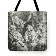 Joseph Telling His Dreams Tote Bag
