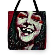 Josephine 01 Tote Bag by Grebo Gray