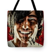 Josephine 04 Tote Bag by Grebo Gray