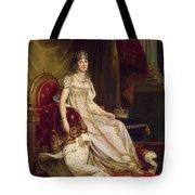 Josephine In Coronation Costume Tote Bag