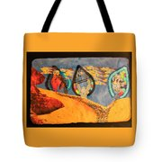 Josephs Tears  Into The Pit  Meeting Brothers And Father Tote Bag