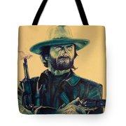 Josey Wales Outlaw. Smokin Gun Tote Bag