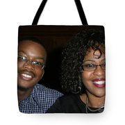 Josh And His Mom Tote Bag
