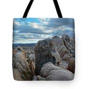 Joshua Tree Boulder Sky Tote Bag