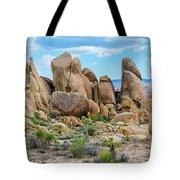 Joshua Tree Boulders Tote Bag