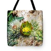 Joshua Tree Cactus Bloom II Tote Bag