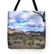 Joshua Tree National Park Landscape Tote Bag