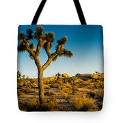 Joshua Tree Panoramic Tote Bag