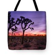 Joshua Tree Pastel Colors Tote Bag