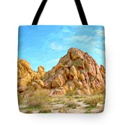 Joshua Tree Rocks Tote Bag