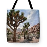 Joshua Tree Summer Monsoon Tote Bag