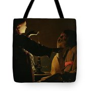 Jospeh And The Angel Tote Bag