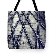 Journey Marks Tote Bag