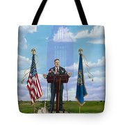 Journey Of A Governor Dave Heineman Tote Bag
