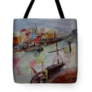 Journey On Waters Tote Bag