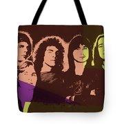 Journey Rock Band Pop Art Tote Bag