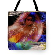 Journey To The Centre Of Man's Mind Tote Bag