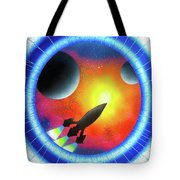 Journey To The Future  Tote Bag