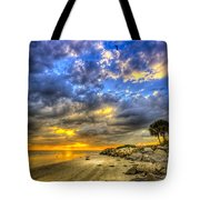 Journey To The Sunset Tote Bag