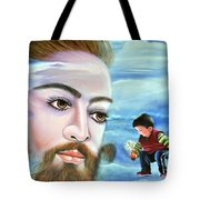Journey With Jesus Tote Bag