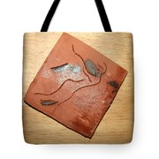 Journeys - Fleeing  24 - Tile Tote Bag