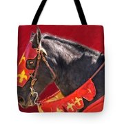 Jouster Red Tote Bag