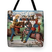 Jousting Knights, 1499 Tote Bag