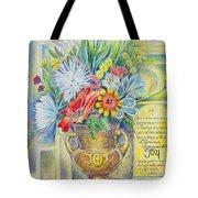 Joy Bouquet Tote Bag