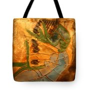 Joy Flowing - Tile Tote Bag