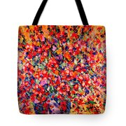 Joy Of Summer Tote Bag