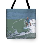 Joy Of Surfing - Three Tote Bag