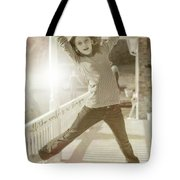 Joy To The World Quote Tote Bag