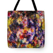 Joyful Clown Tote Bag