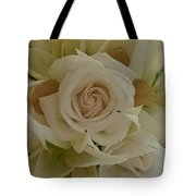 Joyful Flowers Tote Bag